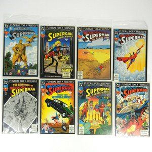 DC Adventures of Superman Funeral for a Friend 1-8